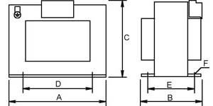 Single-phase Security Transformer sketch