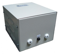 Single-phase Transformer in Steel sheet housing series EVE