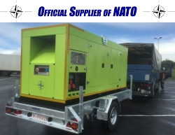 Mobile generators Series PSGR up to 400kVA with soundproof design